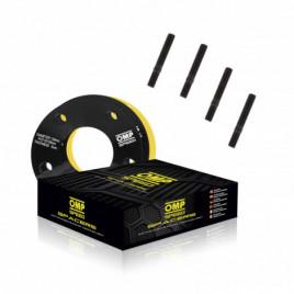 Coppia Distanziali OMP 5mm 4x114.3 69.1 M12x1.25
