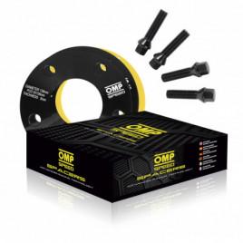 Coppia Distanziali OMP 15mm 5x108 58.1 M12x1.25+14x1.5