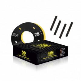 Coppia Distanziali OMP 5mm 5x114.3 67.1 M14x1.5+12x1.5