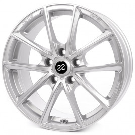 Cerchio in lega Japan Racing JR10 16x8 ET20 5x100/114 Machined Sil