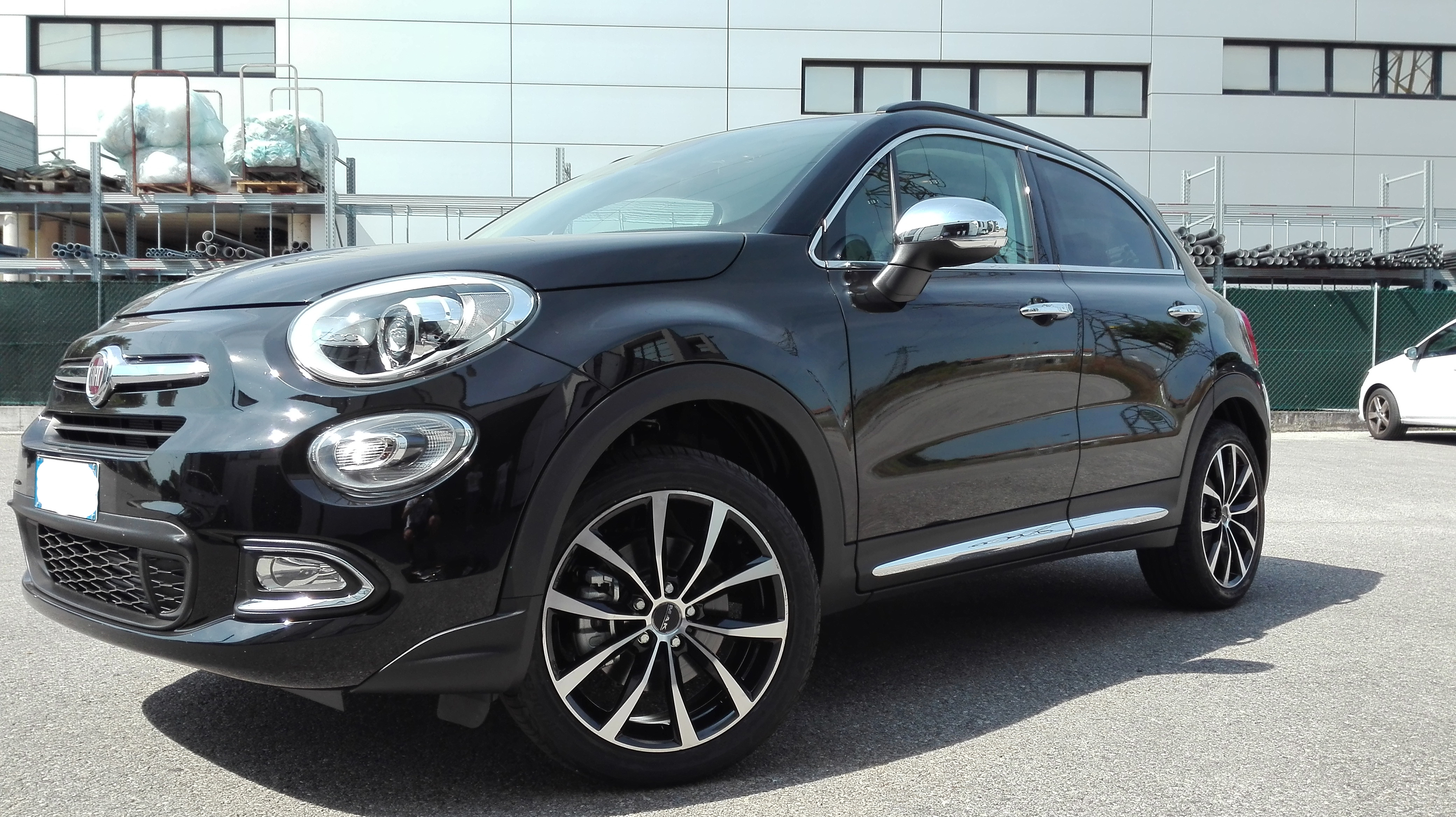 cerchi per auto cerchi mak wolf su fiat 500x. Black Bedroom Furniture Sets. Home Design Ideas